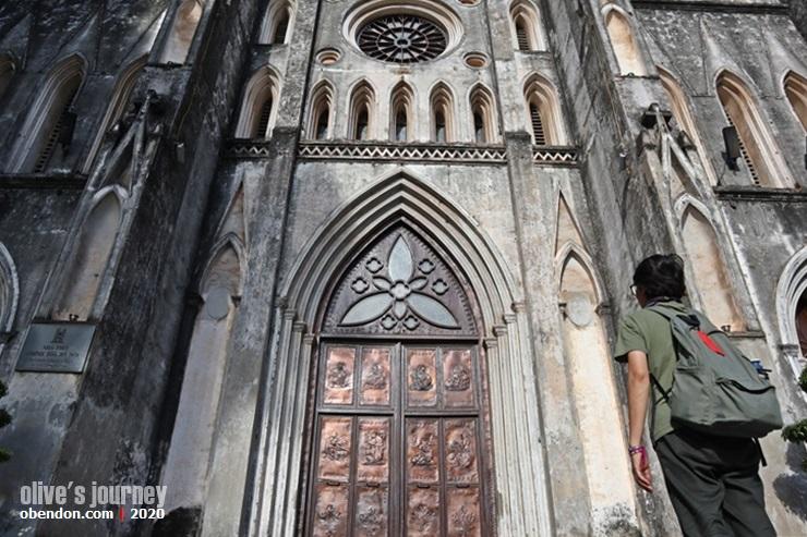 church in hanoi, church history in vietnam, old church in vietnam