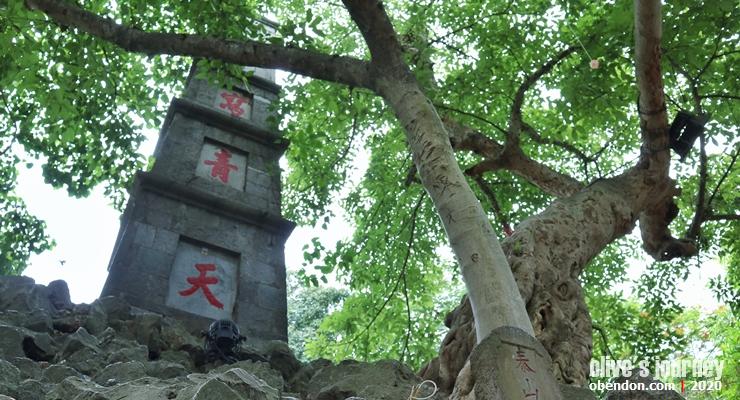 pen tower, the story of hoan kiem lake, history of hoan kiem lake, historical monument at hoan kiem lake