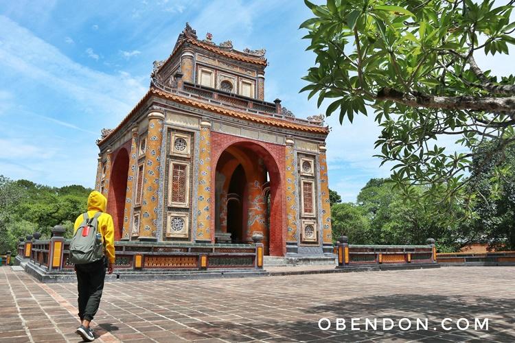 tomb of tu duc, khiem lang, royal tomb of hue, makam kaisar tu duc